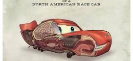 Anatomia divertida: Cars