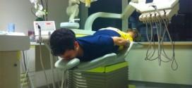 Dormir no dentista…
