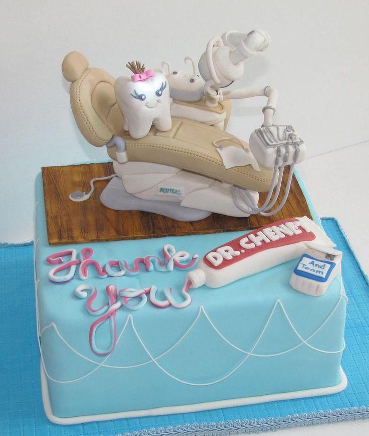 Torta Cake Design Dentista : 60 MODELOS DE BOLOS PARA DENTISTAS