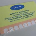 Cartão Visita Dentista