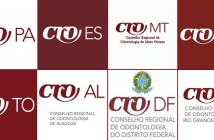 Lista de paginas no facebook conselho regional de Odontologia
