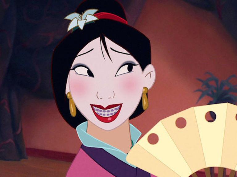E Se As Princesas Disney Usassem Aparelho Nos Dentes